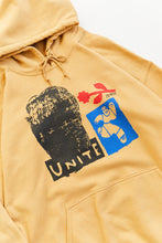 Load image into Gallery viewer, UNITE HOODED SWEATSHIRT - FADED GOLD