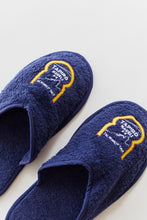Load image into Gallery viewer, TAPIRO HAVELI SLIPPERS - NAVY TERRY TOWELING