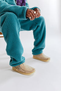 WATERBURY FLEECE PANT - BALSAM BLUE