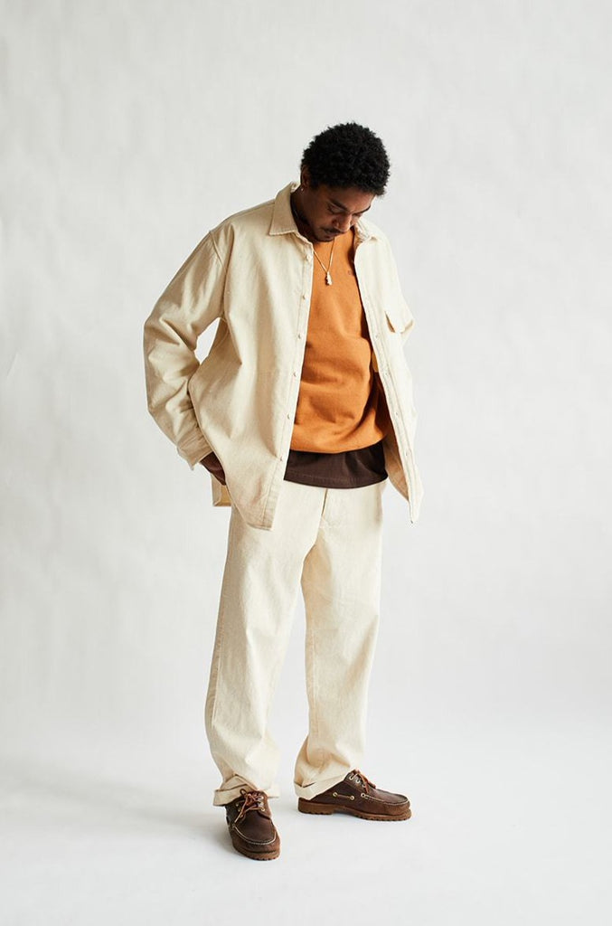 ÉIDE CHINO - UNDYED COTTON CORDUROY