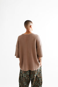 STANDARD ISSUE FOR 18 EAST - ACORN S/S THERMAL CREWNECK
