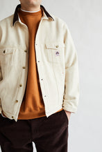 Load image into Gallery viewer, APAMAAN TRUCKER JACKET - UNDYED KHADI