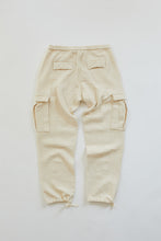 Load image into Gallery viewer, GORECKI CARGO PANT - UNDYED DIAMOND JACQUARD