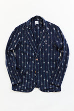 Load image into Gallery viewer, OSMAN JACKET - MIDNIGHT NAVY IKAT