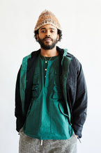 Load image into Gallery viewer, DRISS UTILITY POPOVER - KOSTON GREEN RIPSTOP