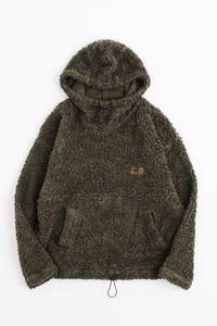JY FUNNELNECK HOODED SWEATSHIRT - FADED FATIGUE GREEN
