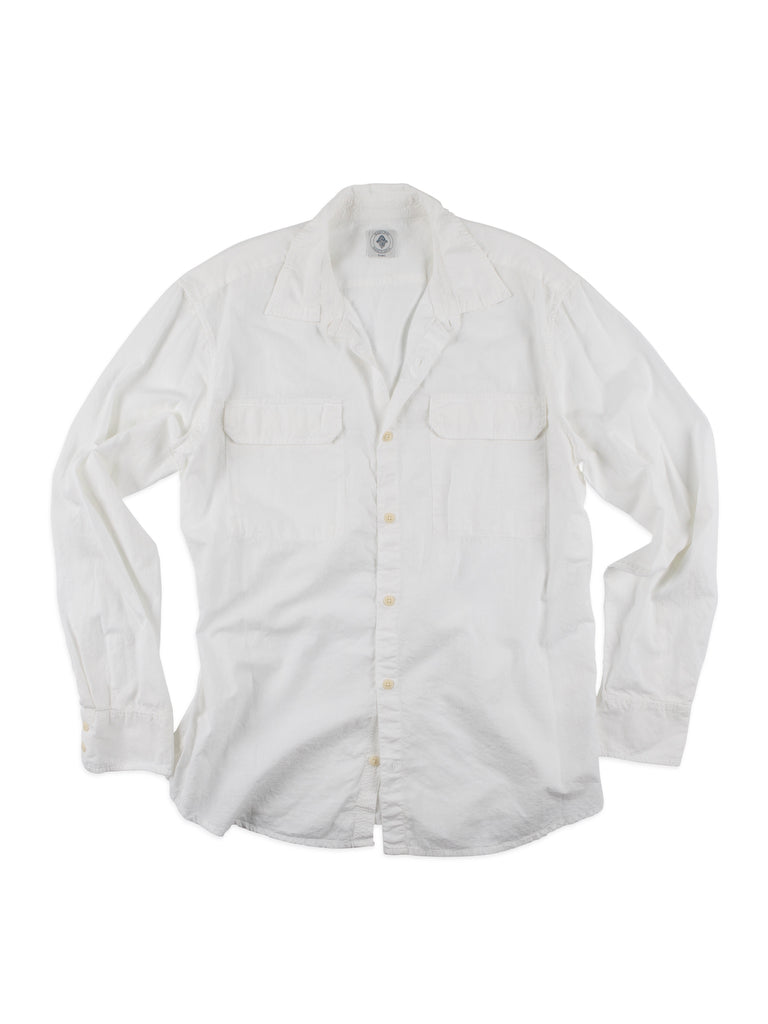FIELD SHIRT- WHITE CHAMBRAY