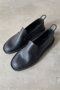 AE MCATEER LOAFER - BLACK CALF