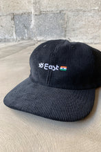 Load image into Gallery viewer, FITNESS BALLCAP - BLACK CORDUROY