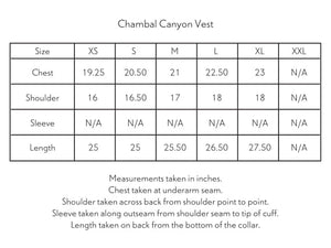 CHAMBAL CANYON VEST - WHITE