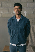 Load image into Gallery viewer, TSOMO INDIGO KHADI CHORE BOMBER