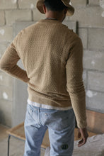 Load image into Gallery viewer, DIHN HEMP CREWNECK SWEATER - SAND MELANGE