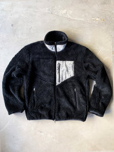 CHARLOTTE SHERPA JACKET - BLACK FLEECE