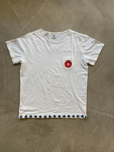Petrified Good for 18 East—Rinchen Hand Embroidered T-shirt