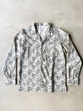 Load image into Gallery viewer, JULIAN VINTAGE PAJAMA SHIRT - SAND BANDANA PRINT