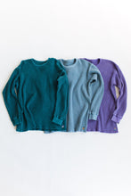 Load image into Gallery viewer, STANDARD ISSUE FOR 18 EAST—LAVENDER THERMAL CREWNECK