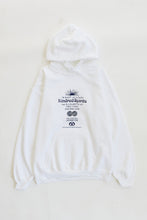 Load image into Gallery viewer, ALLCAPSTUDIO X 18 EAST KINDRED SPIRITS HOODED SWEATSHIRT - WHITE