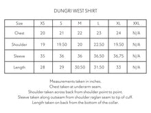 Load image into Gallery viewer, DUNGRI WESTERN SHIRT - WHITE KHADI