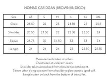 Load image into Gallery viewer, NOMAD CARDIGAN - CHOCOLATE MELANGE COTTON LINEN