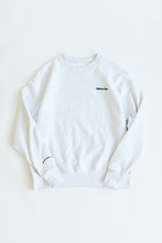 Load image into Gallery viewer, NATURAL WORLD CREWNECK SWEATSHIRT - COLLEGIATE HEATHER CROSSWEAVE