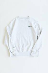 NATURAL WORLD CREWNECK SWEATSHIRT - COLLEGIATE HEATHER CROSSWEAVE