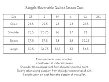 Load image into Gallery viewer, RANGDOL REVERSIBLE QUILTED SATEEN COAT
