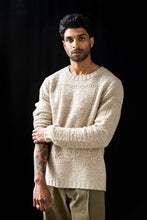 Load image into Gallery viewer, WAINSCOTT ARAN CREWNECK SWEATER