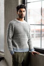 Load image into Gallery viewer, GABOR UPCYCLED CASHMERE CREWNECK - GRAY