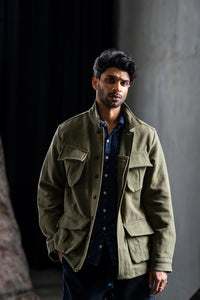 MANDU KHADI JUNGLE JACKET