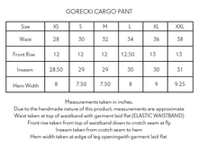 Load image into Gallery viewer, GORECKI CARGO PANT - POLLEN YELLOW