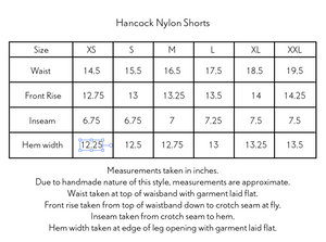 HANCOCK NYLON SHORTS - PURPLE NYLON