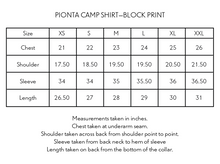 Load image into Gallery viewer, PIONTA CAMP SHIRT—PURPLE BLOCK PRINTED BAGRU CORDUROY
