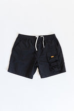Load image into Gallery viewer, HANCOCK NYLON SHORTS - BLACK NYLON