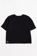 Load image into Gallery viewer, STANDARD ISSUE FOR 18 EAST - BLACK S/S THERMAL CREWNECK