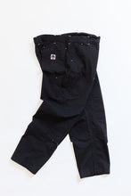 Load image into Gallery viewer, STUDIO DOUBLE KNEE PANT - BLACK RIPSTOP