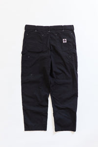 STUDIO DOUBLE KNEE PANT - BLACK