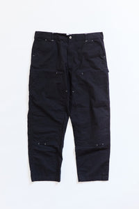STUDIO DOUBLE KNEE PANT - BLACK RIPSTOP