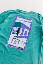 Load image into Gallery viewer, 18 EAST X LEON WASHERE CURRACH L/S TEE - MINT