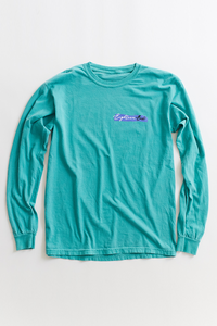 18 EAST X LEON WASHERE CURRACH L/S TEE - MINT