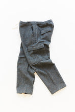Load image into Gallery viewer, GORECKI CARGO PANT - GRAY MOLLOY & SONS DONEGAL PLAINWEAVE TWEED