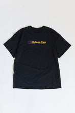 Load image into Gallery viewer, DIVERGENT CONNECTIONS TEE - BLACK PIGMENT DYED COTTON