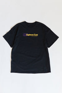 DIVERGENT CONNECTIONS TEE - BLACK PIGMENT DYED COTTON