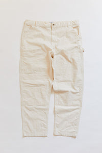 STUDIO DOUBLE KNEE PANT - UNDYED