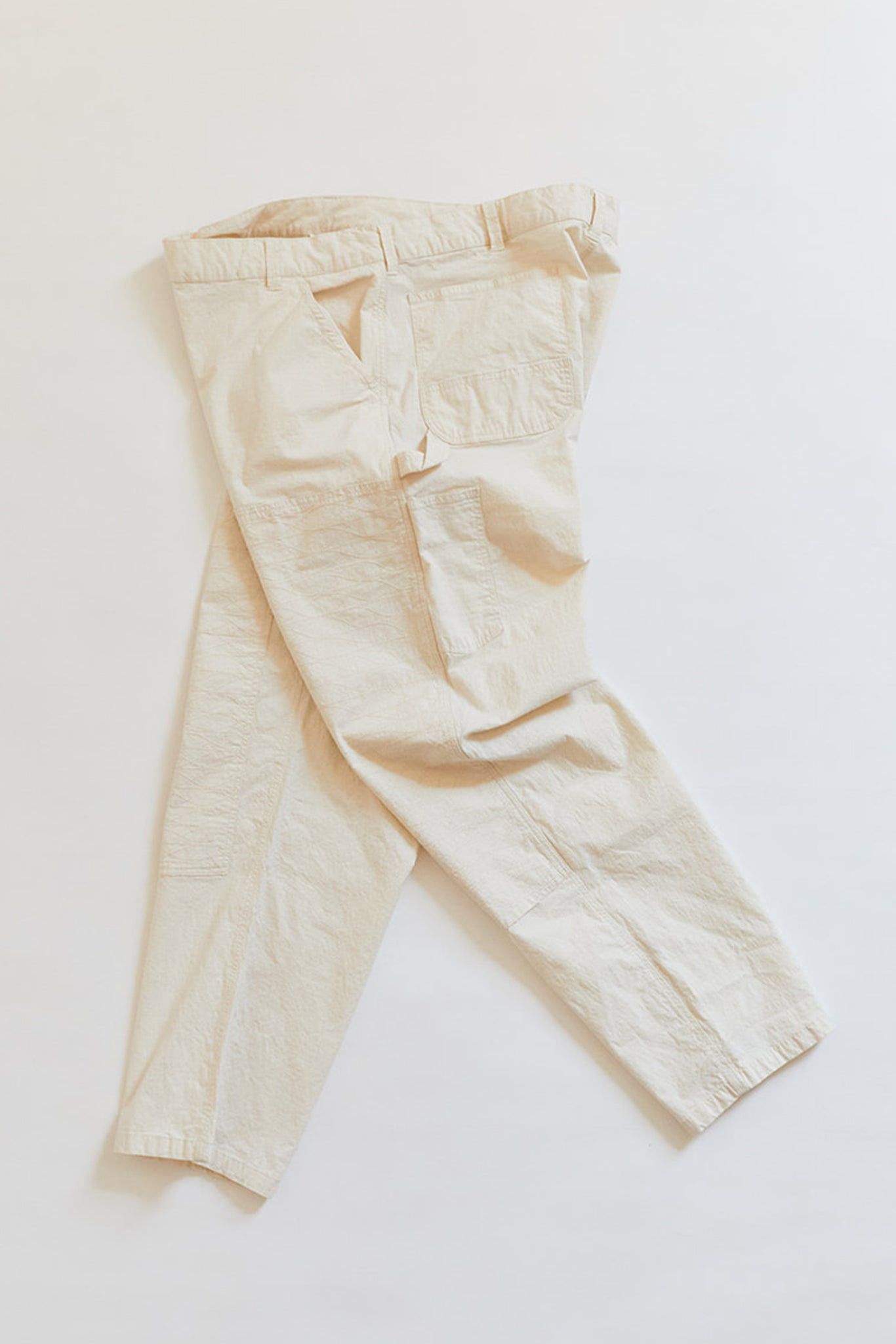STUDIO DOUBLE KNEE PANT - UNDYED RIPSTOP