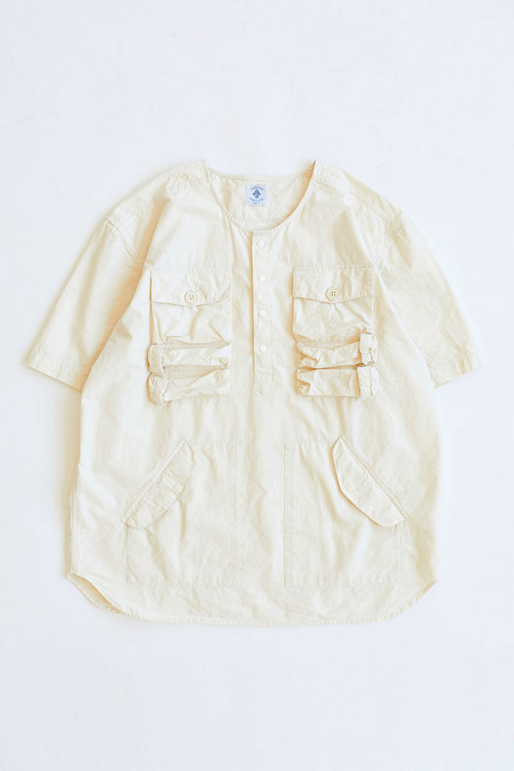 DRISS UTILITY SHIRT - UNDYED COTTON RIPSTOP