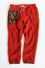 Load image into Gallery viewer, LONG TRAIL FLEECE PANT - RED OCHRE