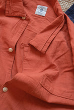 "Load image into Gallery viewer, JULIAN VINTAGE PAJAMA SHIRT - MADDER ""REAPPROPRIATED"" KHADI"