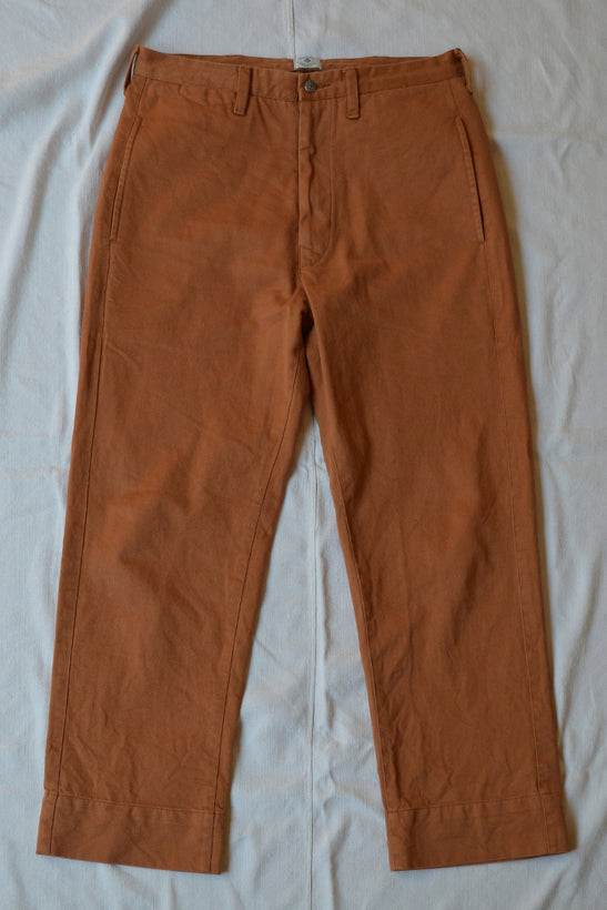 DUNGRI WEST CHINO - OCHRE KHADI DENIM