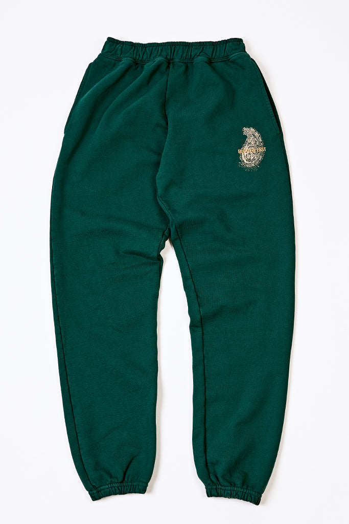 18 EAST X STANDARD ISSUE SWEATPANT - FOREST GREEN