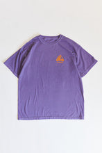 Load image into Gallery viewer, HOME FREE TEE - PURPLE PIGMENT DYED COTTON